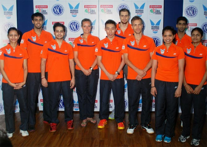 The Mumbai Masters team