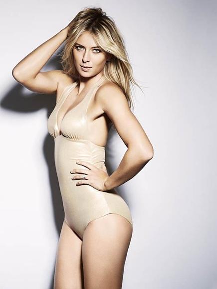 Maria Sharapova strips; reveals secrets of sexy abs