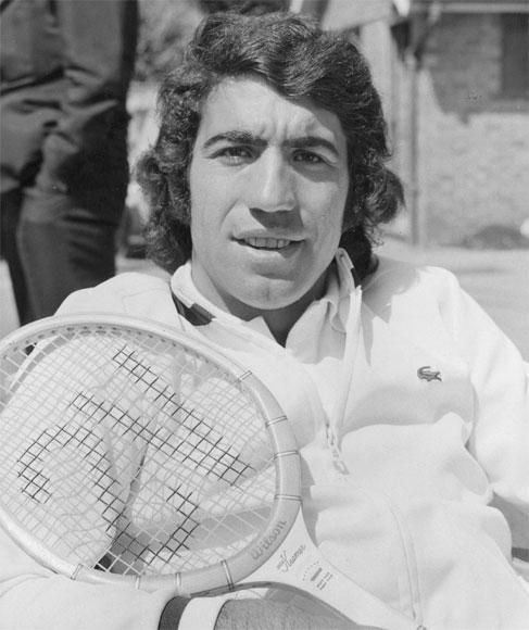 Manuel Orantes of Spain