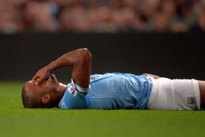 Manchester City captain Kompany out for at least four weeks