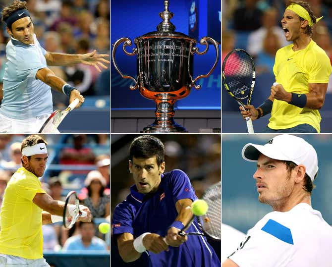 The famous five: Usual suspects eyeing US Open glory