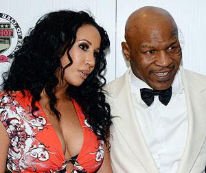 Former boxer Mike Tyson with wife Lakiha 'Kiki' Tyson