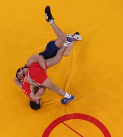 Wrestling back at the Olympics