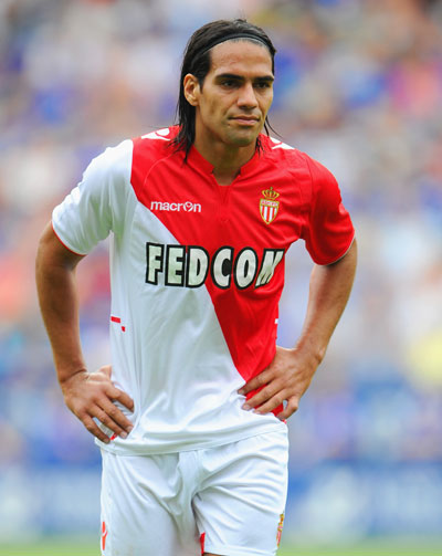 Radamel Falcao of AS Monaco