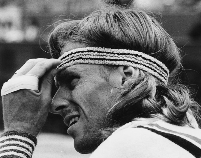 Bjorn Borg of Sweden