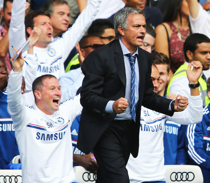 Mourinho is at it again at Stamford Bridge