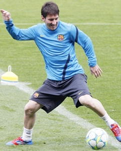 Super Cup: Messi in Barca squad for showdown with Atletico