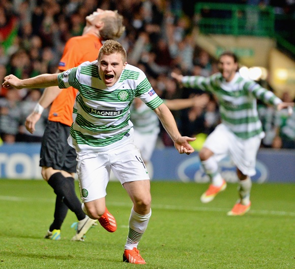 League Photos: Stoppage time winner books group spot for Celtic
