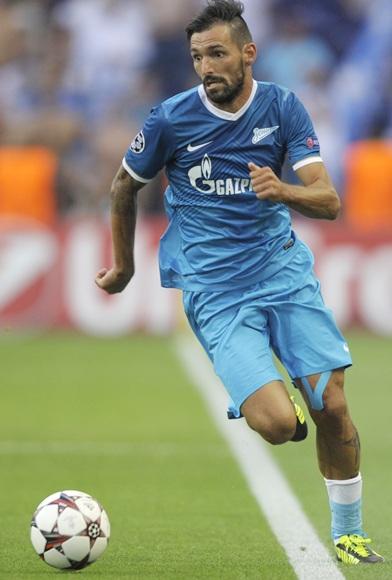 Danny of FC Zenit St Petersburg