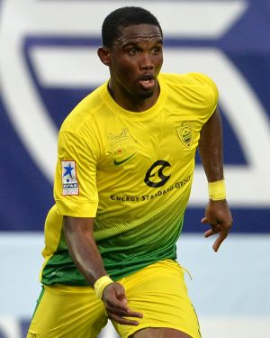 Chelsea sign striker Eto'o
