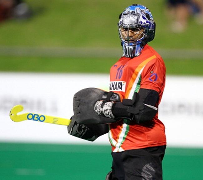 India goalkeeper P R Sreejesh
