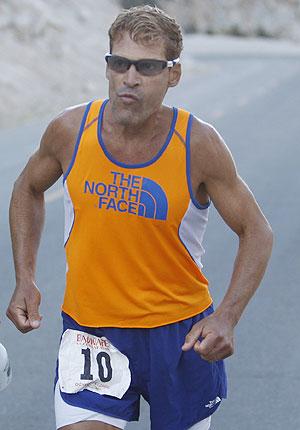 Ultra-marathon runner Dean Karnazes