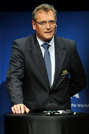 Jerome Valcke, FIFA General Secretary