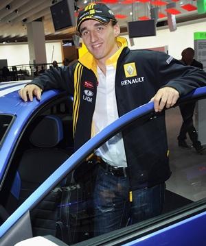 Kubica wins FIA personality award