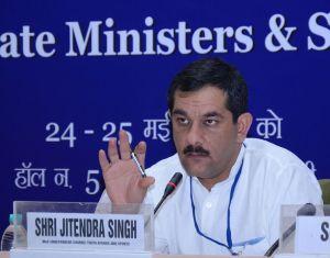 Sports minister Jitendra Singh