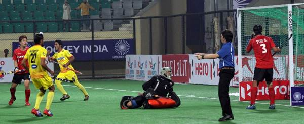 Mandeep Singh scores for India