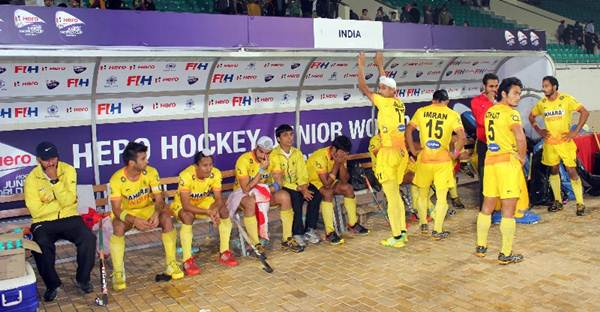 Rediff Sports - Cricket, Indian hockey, Tennis, Football, Chess, Golf - Jr WC hockey: Our boys gave away the match to Korea, says India coach