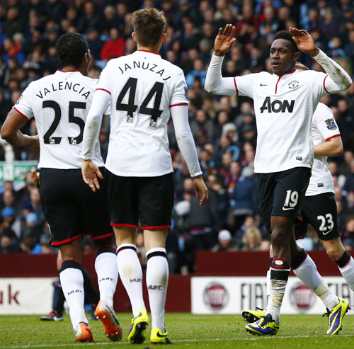 EPL: Danny Welbeck double lifts Manchester United's spirits