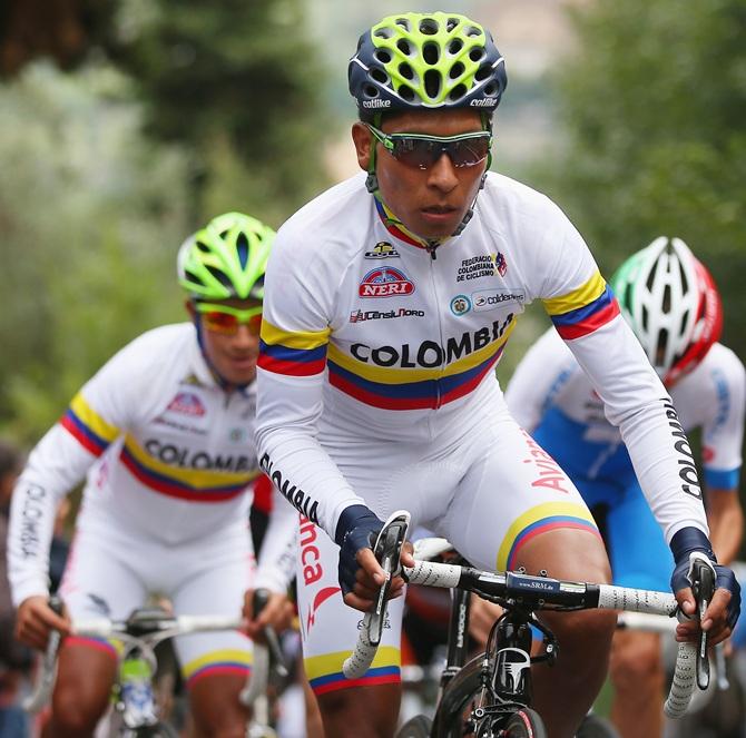 Nairo Quintana of Colombia