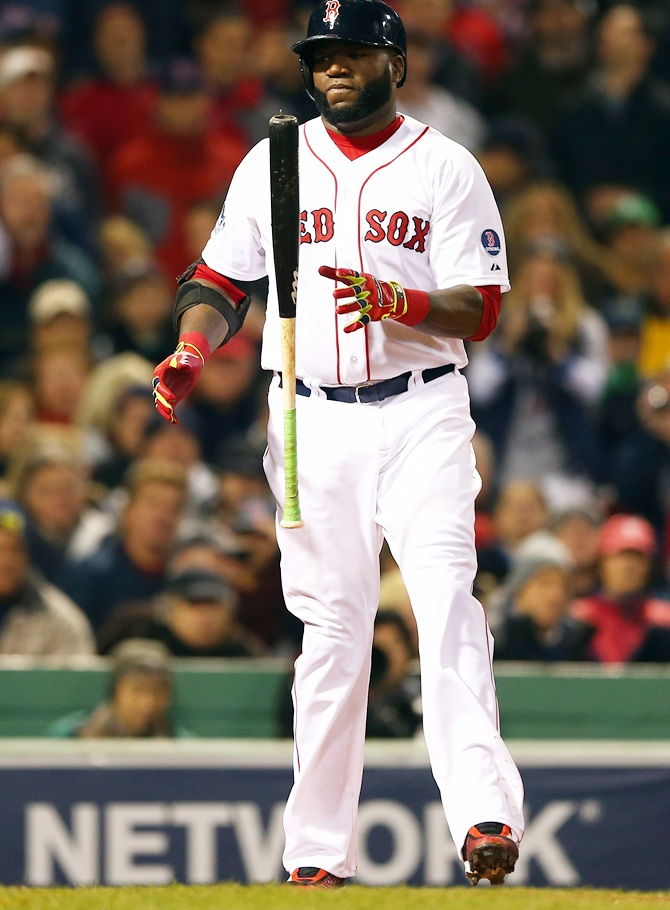 David Ortiz of the Boston Red Sox