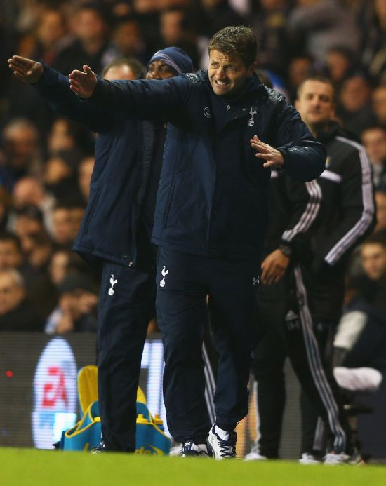 Sherwood uncertain about Tottenham future