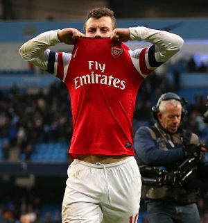 Rediff Sports - Cricket, Indian hockey, Tennis, Football, Chess, Golf - Wilshere accepts FA charge for offensive hand gesture