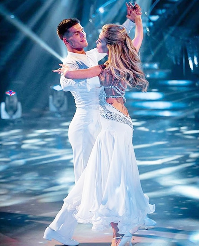 Abbey Clancy bags 'Strictly Come Dancing' trophy