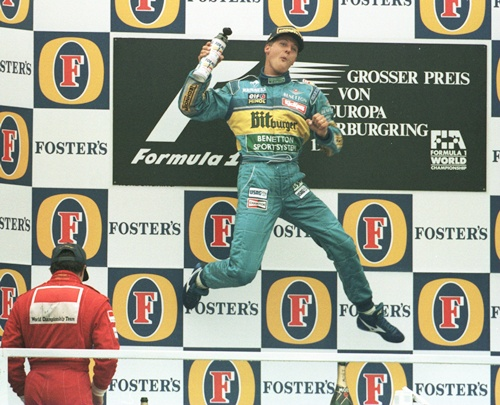 Drove the 'greatest race' for Benetton