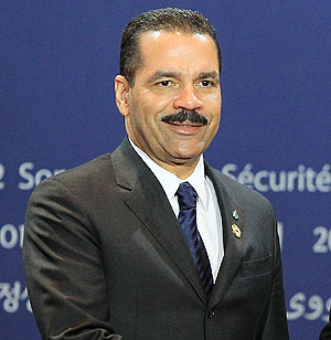 Interpol chief Ronald Noble