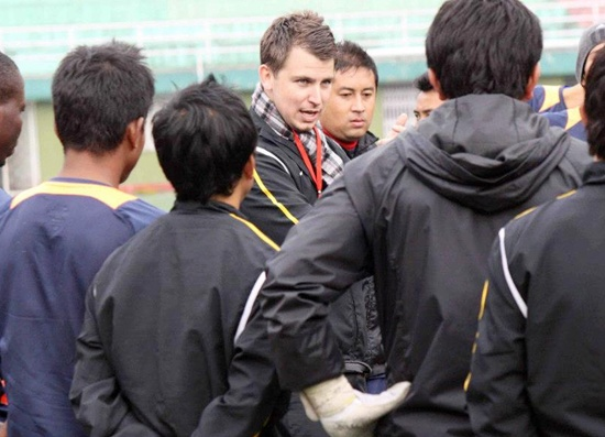Coach looks forward to his team's five home matches