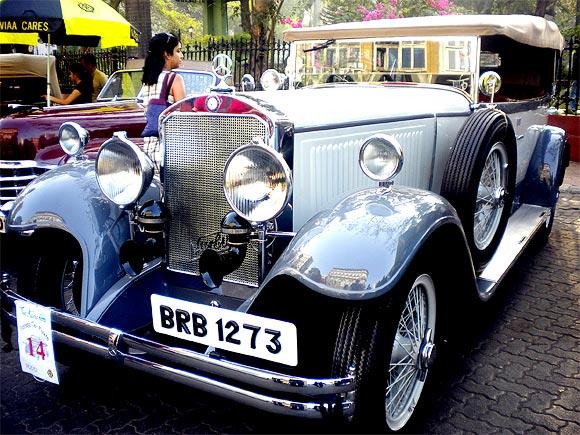 Viveck Goenka's 1929 Mercedes Noomburg