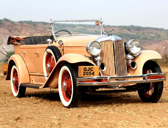 The Maharana of Kutch's 1931 Chrysler, now owned by Madan Mohan from Delhi
