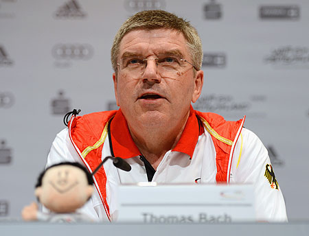International Olympic Committee member Thomas Bach