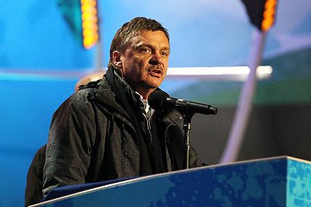 IOC member Rene Fasel