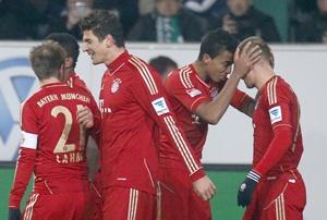 Bayern Munich's Arjen Robben
