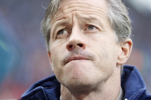 Schalke 04's coach Jens Keller
