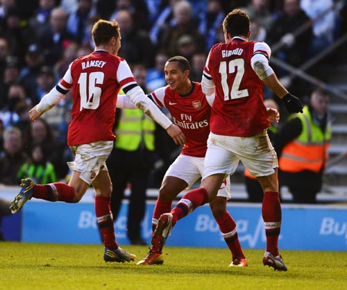 Arsenal will take on Villa