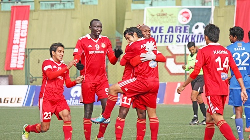 Pune FC beat United Sikkim, move atop standings