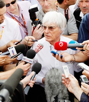 F1 supremo Bernie Ecclestone