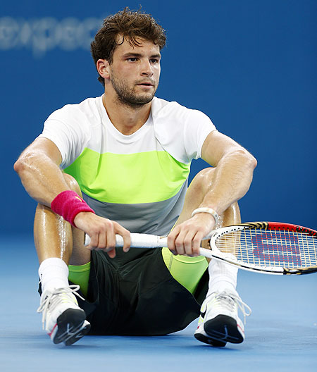 Grigor Dimitrov of Bulgaria