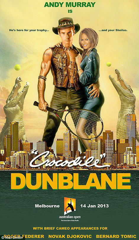 Andy Murray's Crocodile Dunblane poster