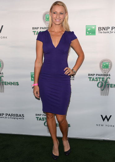 Mirjana Lucic attends the 13th Annual BNP PARIBAS TASTE OF TENNIS, benefitting New York Junior Tennis & Learning in New York