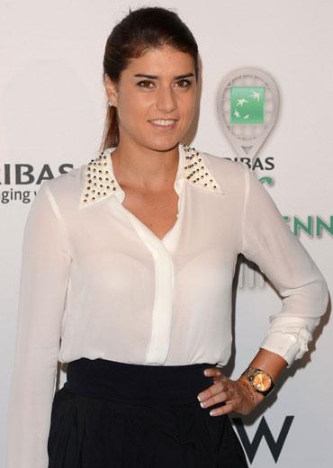 Sorana Cirstea attends the 13th Annual BNP PARIBAS TASTE OF TENNIS, benefitting New York Junior Tennis