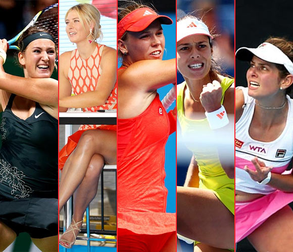 The sexiest female tennis players at the Australian Open