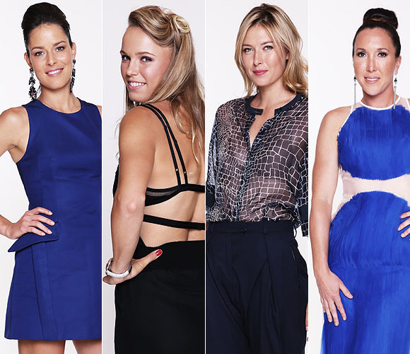 PHOTOS: Fashion parade of tennis beauties