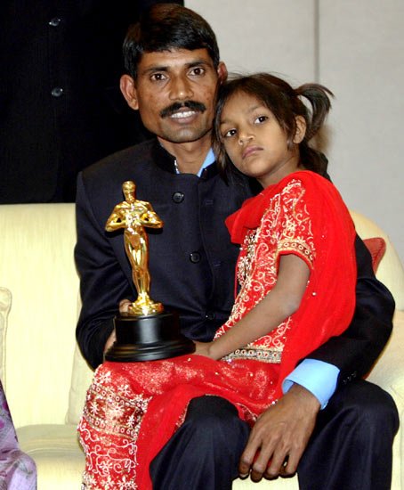 Pinki Sonkar with her father Rajendra
