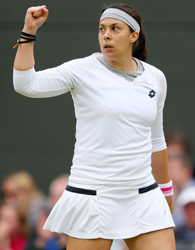 Marion Bartoli of France
