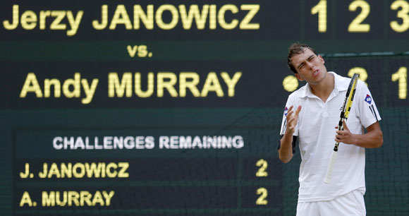 Jerzy Janowicz expresses his disappointment