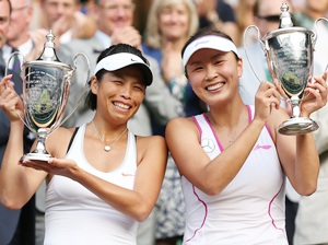 Hsieh becomes Taiwan's first Grand Slam title winner