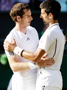 Murray deserved to win, says gracious Djokovic